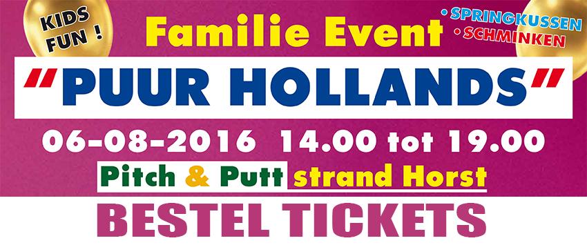 Tickets PUUR HOLLANDS