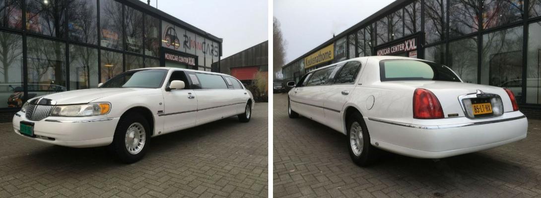 witte limo, witte limousine, wittelimo huren, witte limousine huren, limousine huren, limo huren, lincoln town car, trouwauto, trouwvervoer, trouwlimo, trouwlimousine, gala vervoer